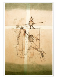 Premium poster Tightrope walker
