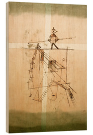 Wood  Tightrope Walker - Paul Klee