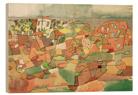 Wood  At Taormina - Paul Klee