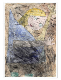 Premium poster  Angel - Paul Klee