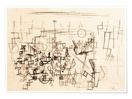 Premium poster  Crowd in the Harbour - Paul Klee