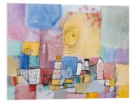 Foam board print  German city - Paul Klee