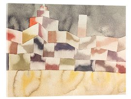 Paul Klee - Architecture in the Orient