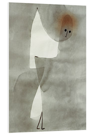 Foam board print  Dance position - Paul Klee