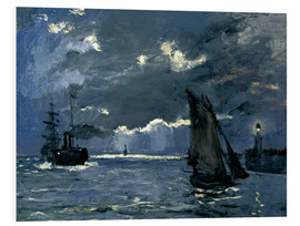 Forex  Ships in Moonshine - Claude Monet