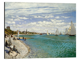 Aluminium print  Regatta at Sainte-Adresse - Claude Monet