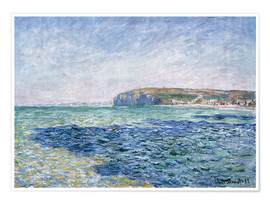 Premium poster  Shadows on the Sea at Pourville - Claude Monet