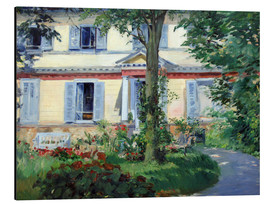 Edouard Manet - Country house in Rueil