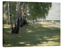 Canvas print  The Artist's Garden - Max Liebermann
