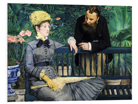 Forex  In the winter garden - Edouard Manet