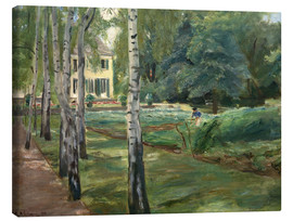 Canvas print  Birch grove - Max Liebermann