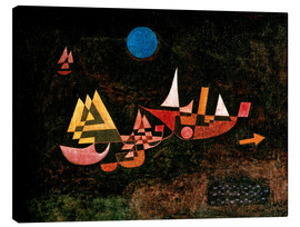 Canvas print  Ships setting Sail - Paul Klee