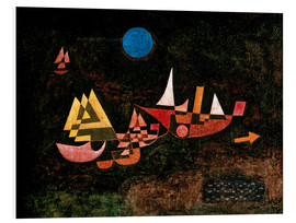 Foam board print  Ships setting Sail - Paul Klee