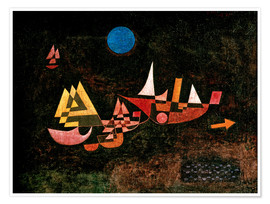 Paul Klee - Ships setting Sail