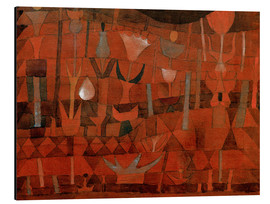 Aluminium print  Indian Flower Garden - Paul Klee