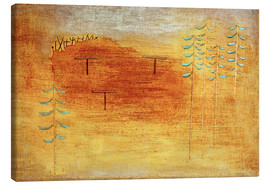 Canvas  Place of the appointment - Paul Klee