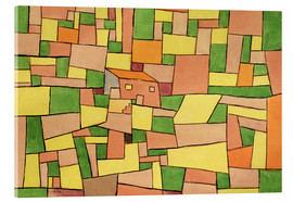 Acrylic glass  Country House of Thomas R. - Paul Klee