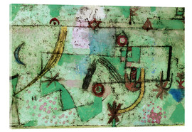 Acrylic print  In the Manner of Bach - Paul Klee