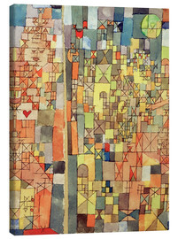 Canvas print  Dogmatic Composition - Paul Klee