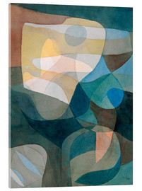 Acrylic print  Light Propagation - Paul Klee