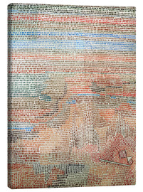 Canvas  the whole dawning - Paul Klee