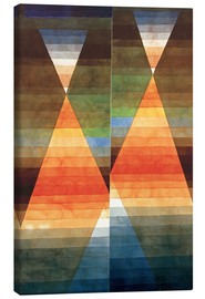 Canvas print  Double Tent - Paul Klee