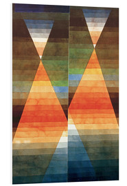 Foam board print  Double Tent - Paul Klee