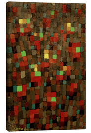 Canvas  Like a Stained-Glass Window - Paul Klee
