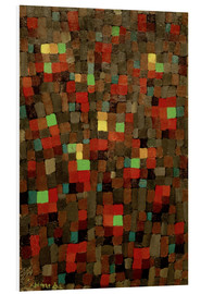 Foam board print  Like a Stained-Glass Window - Paul Klee