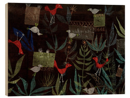 Wood  Bird Garden - Paul Klee