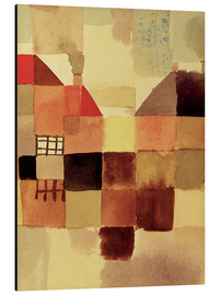Alu-Dibond  Northern Town - Paul Klee