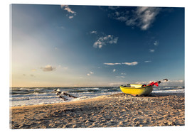 Acrylic print  Rough weather in Ahrenshoop - Dirk Wiemer