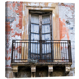Canvas print  Magical sicilian house facade - CAPTAIN SILVA