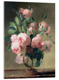 Pierre Joseph Redouté - Vase of Flowers