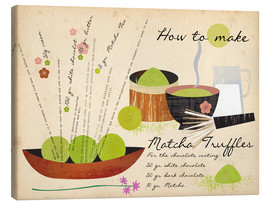 Canvas  How to make Matcha Truffles - Elisandra Sevenstar