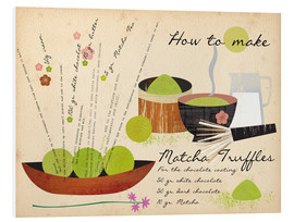 Foam board print  How to Make Matcha Truffles - Elisandra Sevenstar