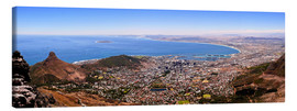 Canvas  Cape Town panoramic view - HADYPHOTO by Hady Khandani