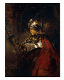 Premium poster  Alexander the Great - Rembrandt van Rijn