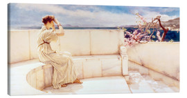 Canvas print  Expectations - Lawrence Alma-Tadema
