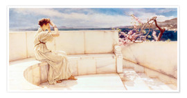 Premium poster  Expectations - Lawrence Alma-Tadema