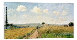Forex  June Morning near Pontoise - Camille Pissarro