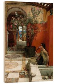 Wood  The Oleander - Lawrence Alma-Tadema