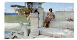 Acrylic print  The Voice of Spring. - Lawrence Alma-Tadema