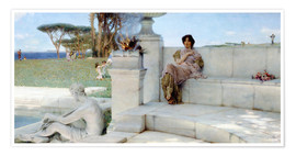 Premium poster  The Voice of Spring. - Lawrence Alma-Tadema
