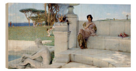 Wood  The Voice of Spring. - Lawrence Alma-Tadema