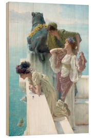 Wood  Coigne of vantage - Lawrence Alma-Tadema