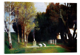 Acrylic glass  The Sacred Grove - Arnold Böcklin