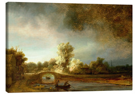 Rembrandt van Rijn - The Stone Bridge