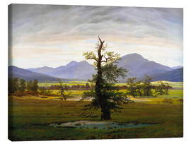 Canvas print  The lonesome tree - Caspar David Friedrich