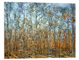 Foam board print  The beech forest - Ferdinand Hodler